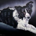 Bobby - Pet Portrait Oil Painting