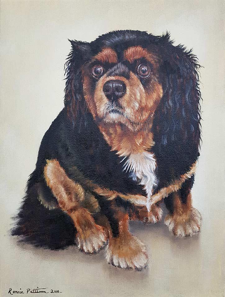 Leo - Finished Painting
