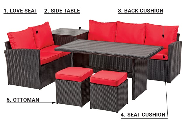 choose your outdoor furniture rona