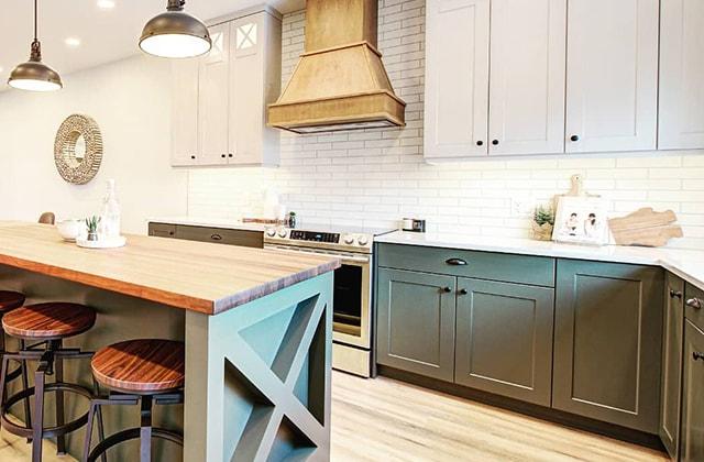 transformer les armoires de cuisine rona