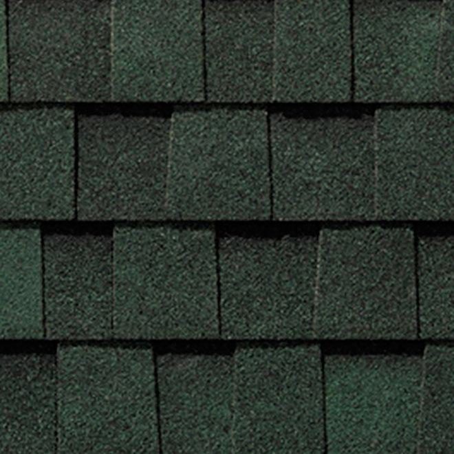 Mystique 42 Roofing Shingle Boreal Green RONA