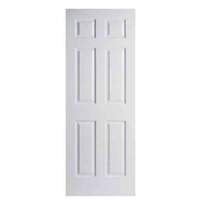 6 Panel Textured Slab Door RONA