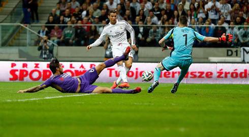 Cristiano Ronaldo Goal In Real Madrid Vs Fiorentina