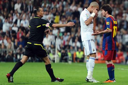 Messi and Pepe