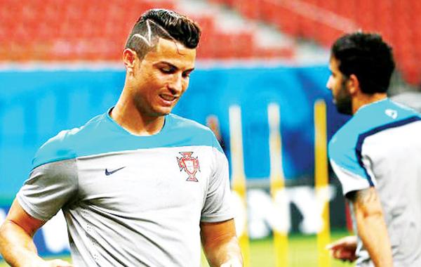 Cristiano Ronaldo Undercut Hairstyle