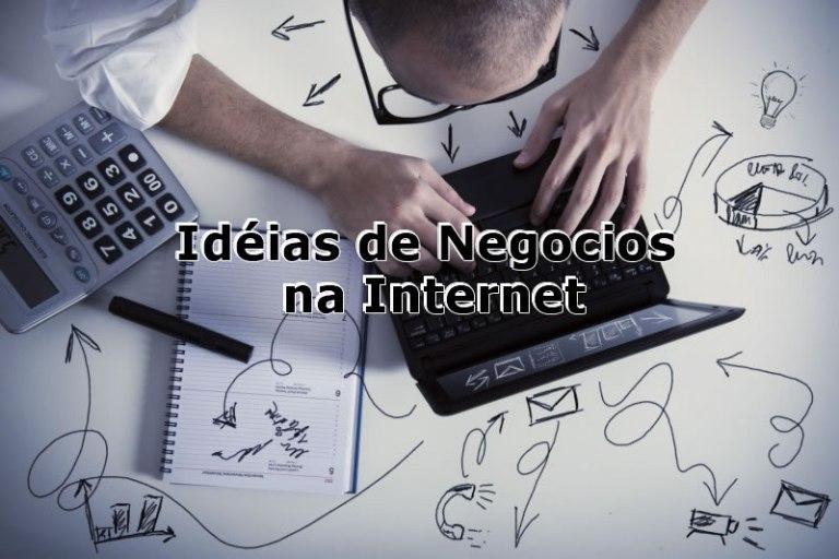 negócios na internet lucrativos