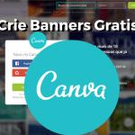Aprenda criar banner online e criar arte online gratis com o Canva