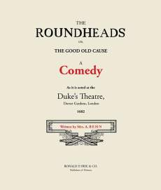 The Roundheads: A Comedy