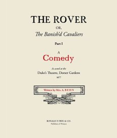 The Rover: A Comedy Part I