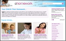 Click for ehomework