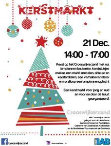 Flyer Kerstmarkt crooswijkerzand