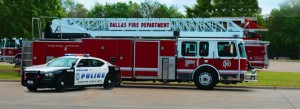 Dallas fire & police