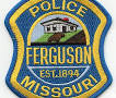 Ferguson police patch