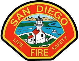San Diego fire patch