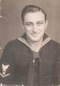 My Uncle Gene who left high school to join the Navy during WWII.