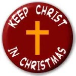 """Keep Christ in Christmas"" is a modern slogan. But the season's pressures reveal our need for the Savior."