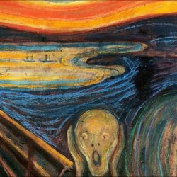 The Silent Scream by Edvard Munch captures the despair of our modern world