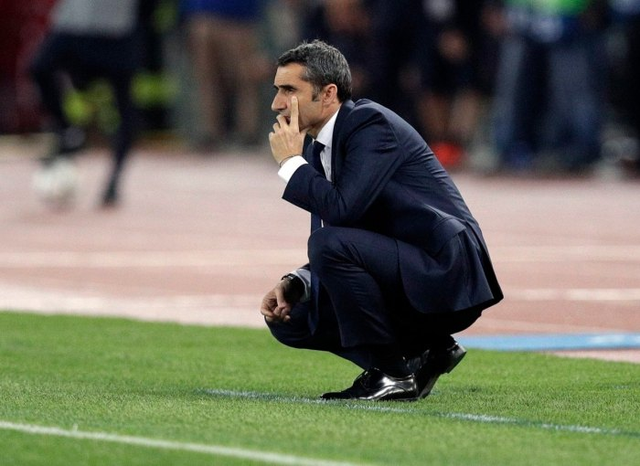 Valverde cae en Roma