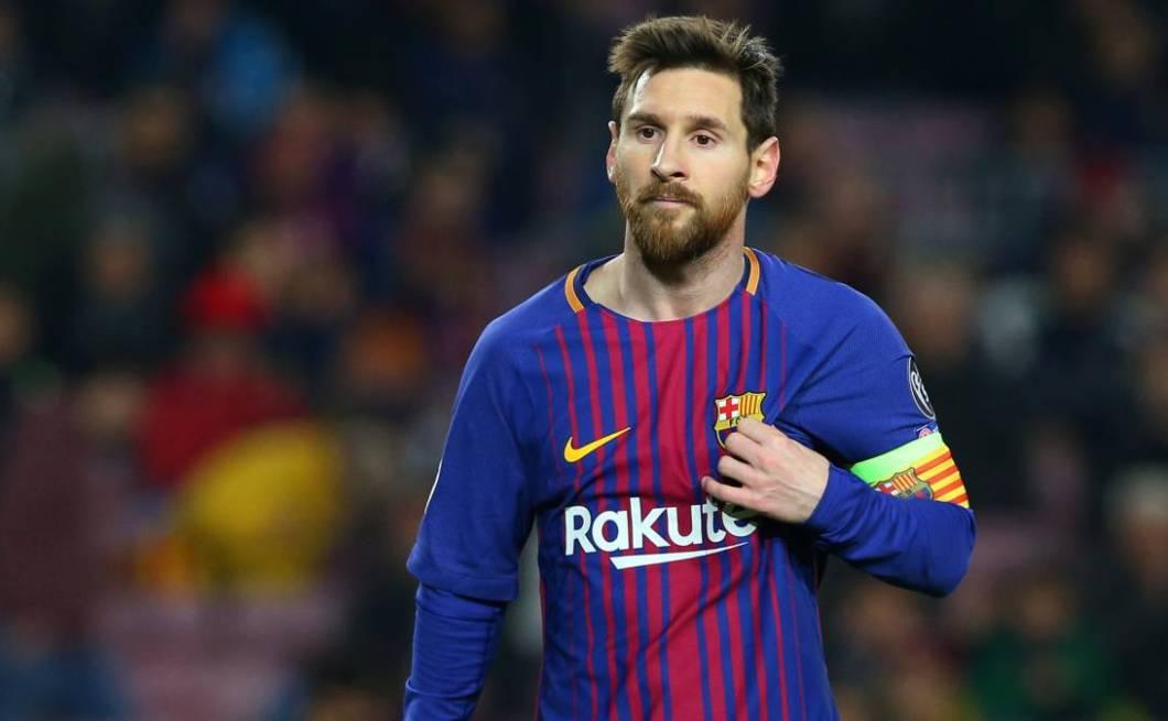 La delantera de Messi