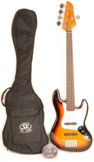 SX Ursa 2 RN 5 3ts FL 5 String Fretless Bass  RondoMusic