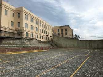 Alcatraz buitenterrein