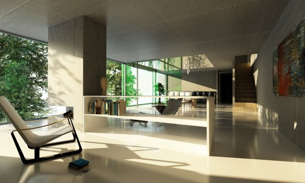 ArchDailys Facebook Fan Page Render Contest Top 10 3D