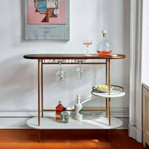 West Elm Bar Cart
