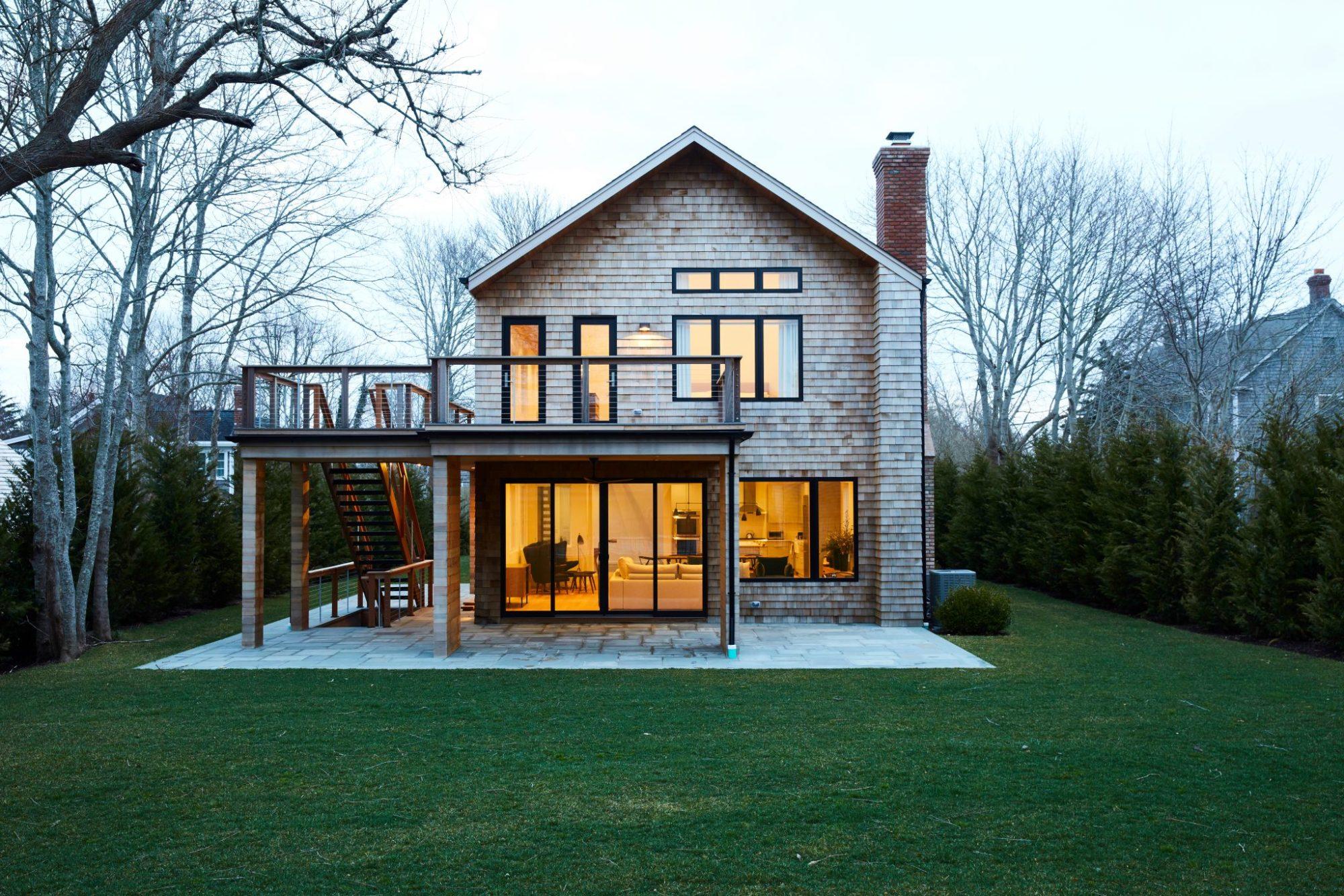 Outdoor space Modern beach house