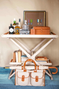 Richard Wrightman Ghurka Bar Cart
