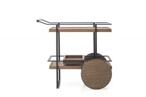 Yabu Pushelberg Stellar Works James Bar Cart