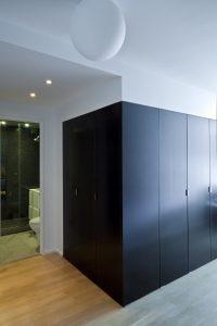 black box closets studio apartment maximize space