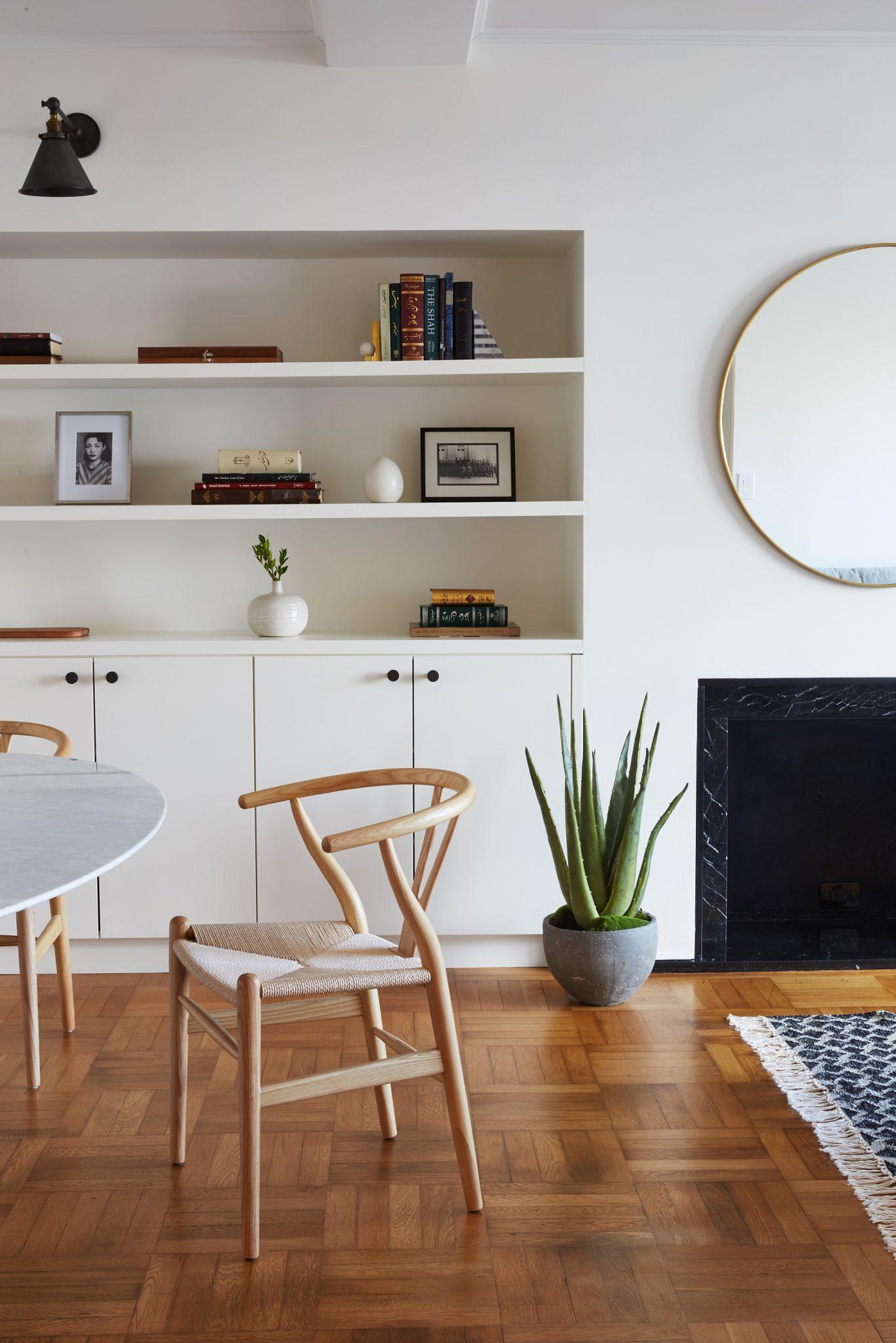 manhattan renovation living room ronen lev