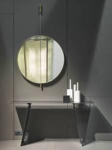Galileo wall hanging mirror for bathroom