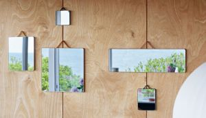 HAY Rectangular mirror for bathroom
