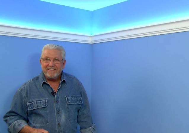 easy inexpensive cove lighting uses foam crown molding and led light tape