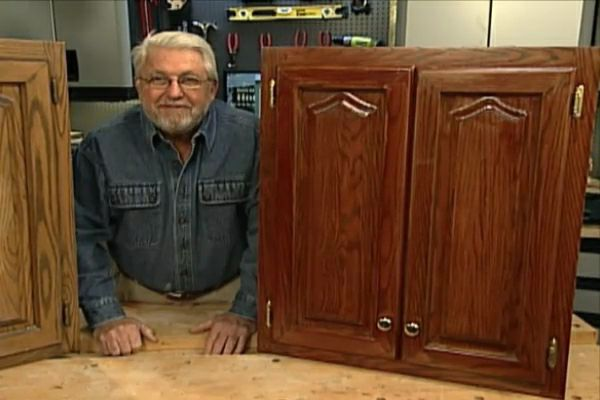 How To Refinish Kitchen Cabinets Without Stripping DIY