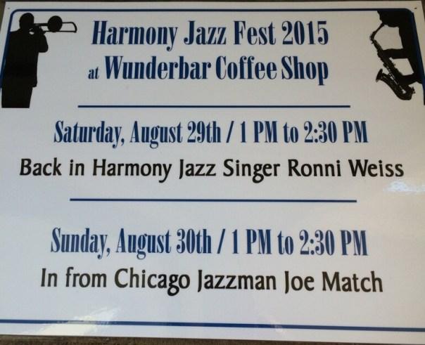 Ronni Weiss Harmony Jazz