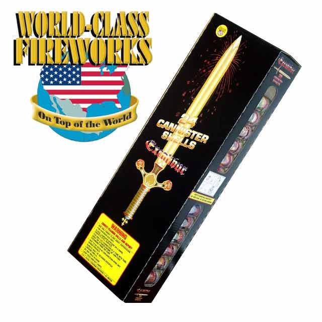 Excalibur | Artillery Shells | Ron's Fireworks