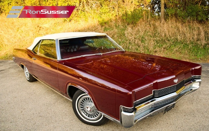 1969 Mercury Marquis 2 Dr  Convertible Fully Restored Gorgeous     I am pleased to offer this beautifully restored 1969 Mercury Marquis  convertible  This car benefitted from a complete restoration which was done  between