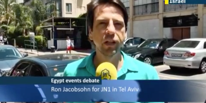 Ron Jacobsohn Finds Out What Impact the New Political Landscape in Egypt will have on Israel