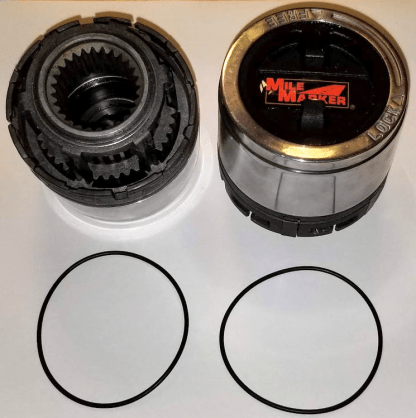 mile marker 426 hubs with o-rings