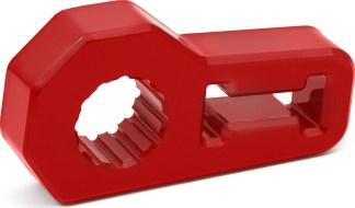 red Daystar jack handle isolator