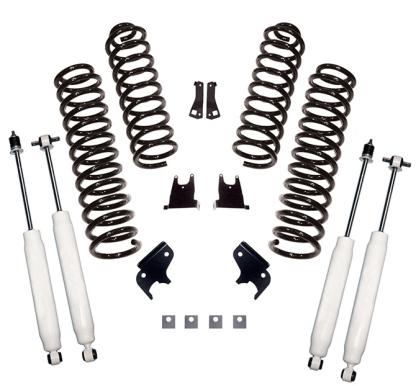 "2.5"" Jeep JKU lift kit with shocks"