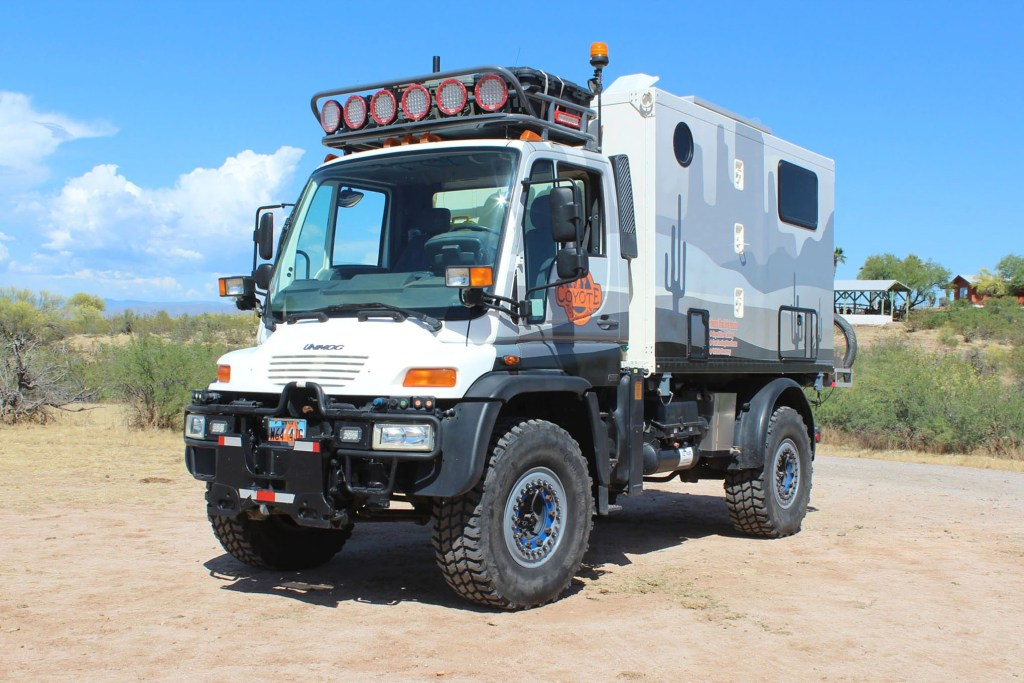 custom mercedes benz unimog trail rig mercedes-benz unimog
