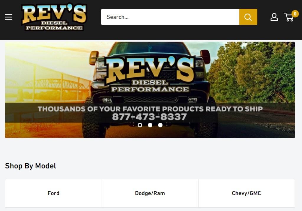 revs diesel performance portfolio shot