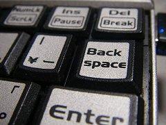 Backspaceキー が戻らない…