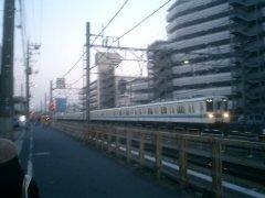 なにげない東上線(上板橋-東武練馬間 (2008年12月30日)