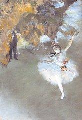 ドガ「エトワール、または舞台の踊り子」