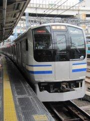 やって来た横須賀線