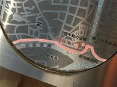 案内地図に妙見島の文字が…